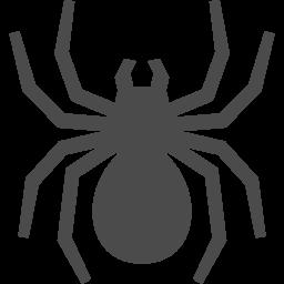 蜘蛛アイコン4 アイコン素材ダウンロードサイト Icooon Mono 商用利用可能なアイコン素材が無料 フリー ダウンロードできるサイト