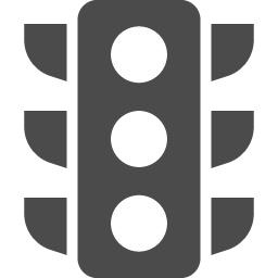 信号機アイコン アイコン素材ダウンロードサイト Icooon Mono 商用利用可能なアイコン素材が無料 フリー ダウンロードできるサイト