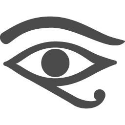 ホルスの目アイコン アイコン素材ダウンロードサイト Icooon Mono 商用利用可能なアイコン素材が無料 フリー ダウンロードできるサイト