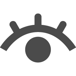 目のアイコン8 アイコン素材ダウンロードサイト Icooon Mono 商用利用可能なアイコン素材が無料 フリー ダウンロードできるサイト