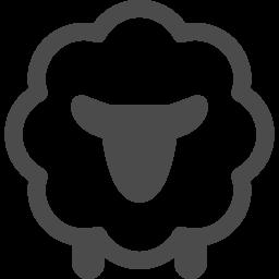 ヒツジアイコン アイコン素材ダウンロードサイト Icooon Mono 商用利用可能なアイコン素材が無料 フリー ダウンロードできるサイト