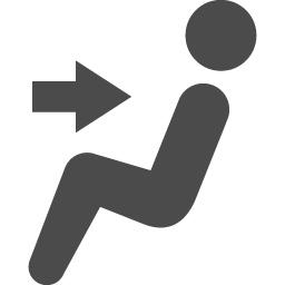 座席アイコン1 アイコン素材ダウンロードサイト Icooon Mono 商用利用可能なアイコン素材が無料 フリー ダウンロードできるサイト
