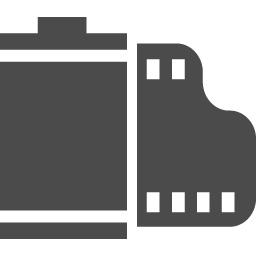 フィルムのフリーアイコン アイコン素材ダウンロードサイト Icooon Mono 商用利用可能なアイコン素材が無料 フリー ダウンロードできるサイト
