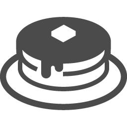 ホットケーキアイコン アイコン素材ダウンロードサイト Icooon Mono 商用利用可能なアイコン素材が無料 フリー ダウンロードできるサイト