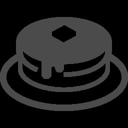 ホットケーキアイコン アイコン素材ダウンロードサイト Icooon Mono 商用利用可能なアイコン 素材が無料 フリー ダウンロードできるサイト