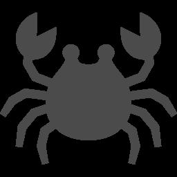 カニアイコン2 アイコン素材ダウンロードサイト Icooon Mono 商用利用可能なアイコン素材が無料 フリー ダウンロードできるサイト