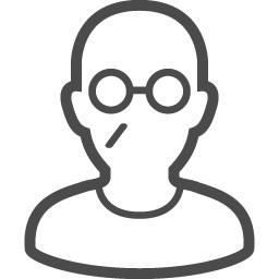 おじいちゃんのフリー素材2 アイコン素材ダウンロードサイト Icooon Mono 商用利用可能なアイコン素材が無料 フリー ダウンロードできるサイト
