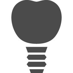 インプラントのアイコン1 アイコン素材ダウンロードサイト Icooon Mono 商用利用可能なアイコン素材が無料 フリー ダウンロードできるサイト