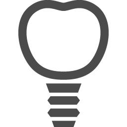 インプラントのアイコン2 アイコン素材ダウンロードサイト Icooon Mono 商用利用可能なアイコン素材が無料 フリー ダウンロードできるサイト