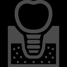 インプラントのアイコン6 アイコン素材ダウンロードサイト Icooon Mono 商用利用可能なアイコン素材が無料 フリー ダウンロードできるサイト