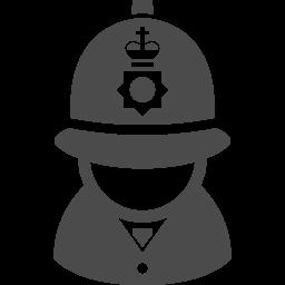 イギリスの警察官2 アイコン素材ダウンロードサイト Icooon Mono 商用利用可能なアイコン素材が無料 フリー ダウンロードできるサイト