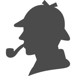 シャーロックホームズアイコン1 アイコン素材ダウンロードサイト Icooon Mono 商用利用可能なアイコン素材が無料 フリー ダウンロードできるサイト