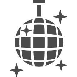 ミラーボールアイコン1 アイコン素材ダウンロードサイト Icooon Mono 商用利用可能なアイコン素材が無料 フリー ダウンロードできるサイト