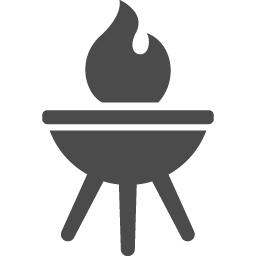 バーベキューアイコン1 アイコン素材ダウンロードサイト Icooon Mono 商用利用可能なアイコン素材が無料 フリー ダウンロードできるサイト