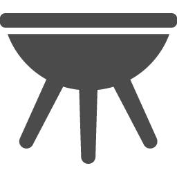 バーベキューの無料アイコン2 アイコン素材ダウンロードサイト Icooon Mono 商用利用可能なアイコン素材が無料 フリー ダウンロードできるサイト