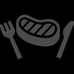ステーキアイコン2 アイコン素材ダウンロードサイト Icooon Mono 商用利用可能なアイコン素材が無料 フリー ダウンロードできるサイト