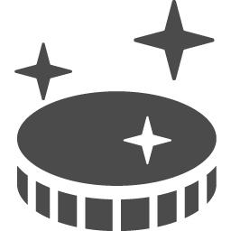 コインアイコン アイコン素材ダウンロードサイト Icooon Mono 商用利用可能なアイコン素材が無料 フリー ダウンロードできるサイト