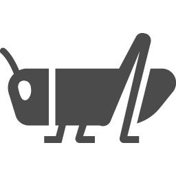 バッタアイコン アイコン素材ダウンロードサイト Icooon Mono 商用利用可能なアイコン素材が無料 フリー ダウンロードできるサイト