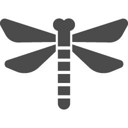 トンボのベクター素材1 アイコン素材ダウンロードサイト Icooon Mono 商用利用可能なアイコン 素材が無料 フリー ダウンロードできるサイト