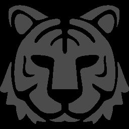 虎アイコン3 アイコン素材ダウンロードサイト Icooon Mono 商用利用可能なアイコン素材が無料 フリー ダウンロードできるサイト