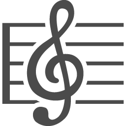 五線譜のベクター素材 アイコン素材ダウンロードサイト Icooon Mono 商用利用可能なアイコン素材が無料 フリー ダウンロードできるサイト