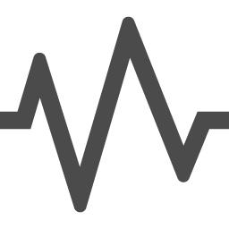 心電図アイコン2 アイコン素材ダウンロードサイト Icooon Mono 商用利用可能なアイコン素材が無料 フリー ダウンロードできるサイト