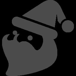 サンタクロースアイコン11 アイコン素材ダウンロードサイト Icooon Mono 商用利用可能なアイコン素材が無料 フリー ダウンロードできるサイト