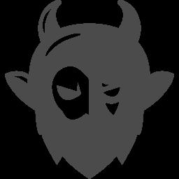 悪魔アイコン4 アイコン素材ダウンロードサイト Icooon Mono 商用利用可能なアイコン素材が無料 フリー ダウンロードできるサイト