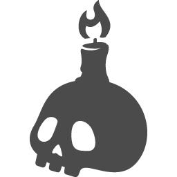 ドクロの無料アイコン9 アイコン素材ダウンロードサイト Icooon Mono 商用利用可能なアイコン素材が無料 フリー ダウンロードできるサイト