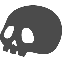 ドクロアイコン10 アイコン素材ダウンロードサイト Icooon Mono 商用利用可能なアイコン素材が無料 フリー ダウンロードできるサイト