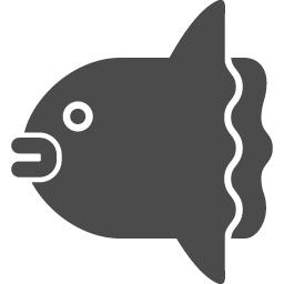 マンボウアイコン1 アイコン素材ダウンロードサイト Icooon Mono 商用利用可能なアイコン素材が無料 フリー ダウンロードできるサイト