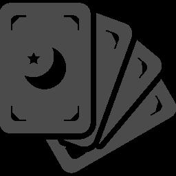 タロットカードアイコン4 アイコン素材ダウンロードサイト Icooon Mono 商用利用可能なアイコン 素材が無料 フリー ダウンロードできるサイト