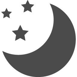 夜アイコン アイコン素材ダウンロードサイト Icooon Mono 商用利用可能なアイコン素材が無料 フリー ダウンロードできるサイト
