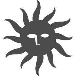 太陽アイコン アイコン素材ダウンロードサイト Icooon Mono 商用利用可能なアイコン素材が無料 フリー ダウンロードできるサイト