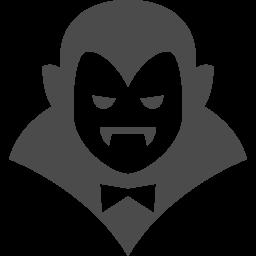 ドラキュラアイコン8 アイコン素材ダウンロードサイト Icooon Mono 商用利用可能なアイコン素材が無料 フリー ダウンロードできるサイト