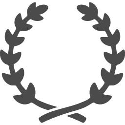 月桂冠アイコン3 アイコン素材ダウンロードサイト Icooon Mono 商用利用可能なアイコン素材が無料 フリー ダウンロードできるサイト