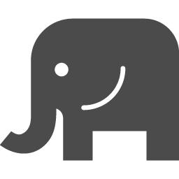 ゾウのフリー素材9 アイコン素材ダウンロードサイト Icooon Mono 商用利用可能なアイコン素材が無料 フリー ダウンロードできるサイト