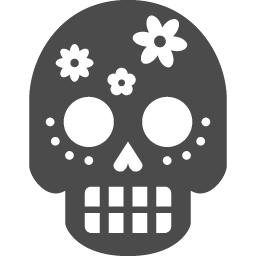 死者の日アイコン1 アイコン素材ダウンロードサイト Icooon Mono 商用利用可能なアイコン素材が無料 フリー ダウンロードできるサイト