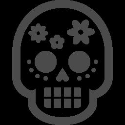 死者の日の無料イラスト2 アイコン素材ダウンロードサイト Icooon Mono 商用利用可能なアイコン素材が無料 フリー ダウンロードできるサイト