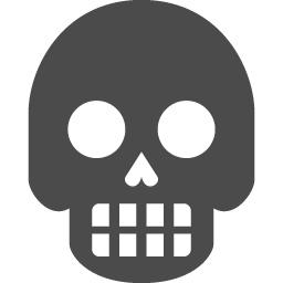 骸骨アイコン18 アイコン素材ダウンロードサイト Icooon Mono 商用利用可能なアイコン素材が無料 フリー ダウンロードできるサイト