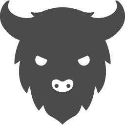 バッファローアイコン4 アイコン素材ダウンロードサイト Icooon Mono 商用利用可能なアイコン素材が無料 フリー ダウンロードできるサイト
