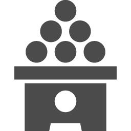 月見だんごアイコン1 アイコン素材ダウンロードサイト Icooon Mono 商用利用可能なアイコン素材が無料 フリー ダウンロードできるサイト