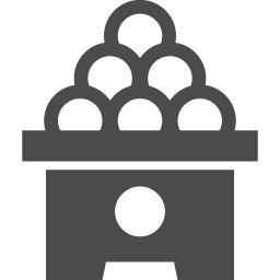 月見だんごのフリー素材2 アイコン素材ダウンロードサイト Icooon Mono 商用利用可能なアイコン素材が無料 フリー ダウンロードできるサイト