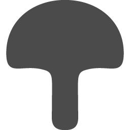 キノコアイコン6 アイコン素材ダウンロードサイト Icooon Mono 商用利用可能なアイコン素材が無料 フリー ダウンロードできるサイト