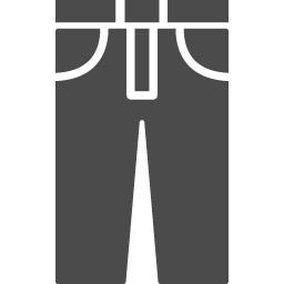 ジーンズアイコン1 アイコン素材ダウンロードサイト Icooon Mono 商用利用可能なアイコン素材が無料 フリー ダウンロードできるサイト