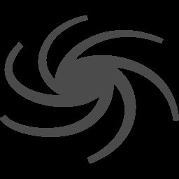 台風アイコン1 アイコン素材ダウンロードサイト Icooon Mono 商用利用可能なアイコン素材が無料 フリー ダウンロードできるサイト