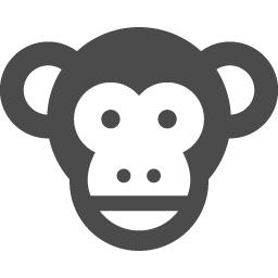 猿アイコン アイコン素材ダウンロードサイト Icooon Mono 商用利用可能なアイコン素材が無料 フリー ダウンロードできるサイト