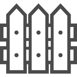 柵の無料イラスト3 アイコン素材ダウンロードサイト Icooon Mono 商用利用可能なアイコン素材が無料 フリー ダウンロードできるサイト