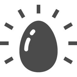 黄金の卵アイコン アイコン素材ダウンロードサイト Icooon Mono 商用利用可能なアイコン素材が無料 フリー ダウンロードできるサイト