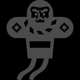 凧アイコン1 アイコン素材ダウンロードサイト Icooon Mono 商用利用可能なアイコン素材が無料 フリー ダウンロードできるサイト